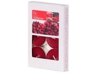Bolsius NR Čajové 6ks Lovely Cranberry vonné svíčky