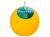Emocio Classic koule 80mm žlutá svíčka