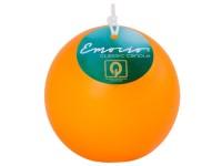 Emocio Classic koule 80mm oranžová svíčka