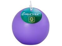 Emocio Classic koule 80mm sv. fialová svíčka