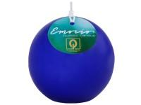 Emocio Classic koule 80mm tm. modrá svíčka