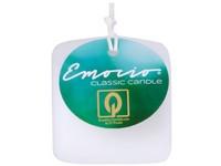 Emocio Classic kostka 50mm bílá svíčka