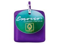 Emocio Classic kostka 50mm tm. fialová svíčka