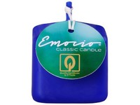 Emocio Classic kostka 50mm tm. modrá svíčka