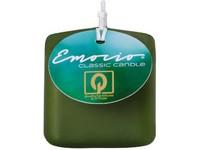 Emocio Classic kostka 50mm tm. olivová svíčka
