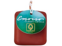 Emocio Classic kostka 50mm hnědá svíčka