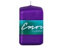 Emocio Classic hranol 50x80 tm. fialová svíčka