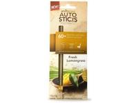 AutoSticks Fresh Lemongrass (svěží citrónová tráva) vonná visačka do auta 3 ks