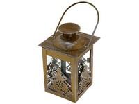 Lucerna kov 75x120 mm Stromek bronzová