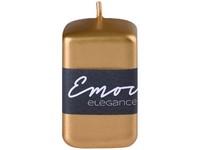 Emocio Elegance hranol 50x80mm zlatá svíčka