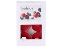 Bolsius Aromatic Čajové 6ks Berry Delight vonné svíčky
