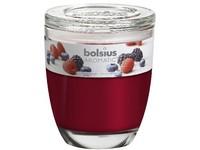 Bolsius Aromatic Sklo 100x120 Berry Delight vonná svíčka