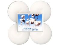 Bolsius NR Čajové Maxi 8ks Cotton Fields vonné svíčky