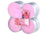 Bolsius NR Čajové Maxi 8ks Pink Orchid vonné svíčky