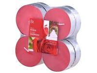 Bolsius NR Čajové Maxi 8ks Wild Roses vonné svíčky