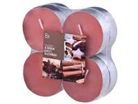 Bolsius NR Čajové Maxi 8ks Sugar&Spice vonné svíčky