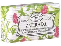 Mýdlo 200g Zahrada přírodní s bambuckým máslem