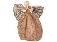 Anděl pytlovina 340 mm hnědý široká sukně