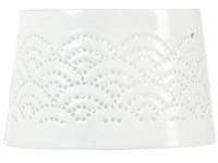 Stínítko 90x48 Lace bílé
