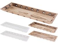 Tác dřevo 160x400 mm, mix