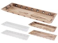Tác dřevo 180x500 mm, mix