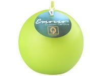 Emocio Classic koule 80mm zelená svíčka