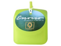 Emocio Classic kostka 50mm zelená svíčka