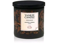 YANKEE CANDLE GOLDEN AMBER GOLD COLLECTION DECOR MALÝ
