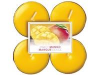 Bolsius NR Čajové Maxi 8ks Sweet Mango vonné svíčky