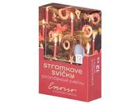 Emocio Stromkové 12ks 12x100 bílé svíčky