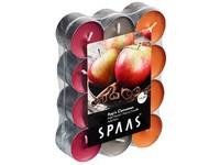 Spaas Čajové 24ks Tri Apple Cinnamon vonné svíčky