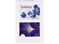 Bolsius Aromatic Čajové 6ks Blueberry vonné svíčky