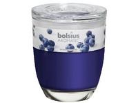 Bolsius Aromatic Sklo 100x120 Blueberry vonná svíčka