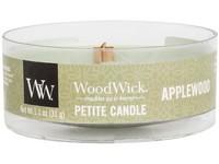 Woodwick Applewood svíčka petite