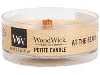 Woodwick At the Beach svíčka petite