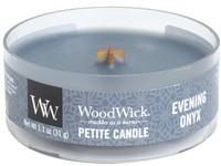 Woodwick Evening Onyx svíčka petite