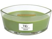 WoodWick Evergreen svíčka loď