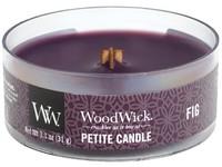 Woodwick Fig svíčka petite