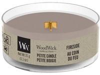 Woodwick Fireside svíčka petite