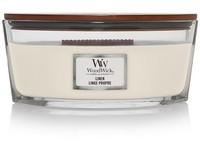 WoodWick Linen svíčka loď