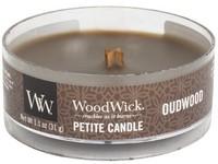 Woodwick Oudwood svíčka petite