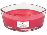 WoodWick Radish & Rhubarb svíčka loď