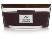 WoodWick Spiced Blackberry svíčka loď