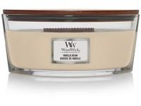 WoodWick Vanilla Bean svíčka loď