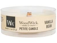 Woodwick Vanilla Bean svíčka petite