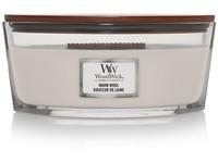 WoodWick Warm Wool svíčka loď