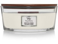 WoodWick White Tea & Jasmine svíčka loď