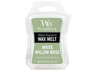 WoodWick White Willow Moss vonný vosk