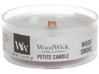 Woodwick Wood Smoke svíčka petite