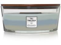 Woodwick Trilogy Woven Comforts svíčka loď